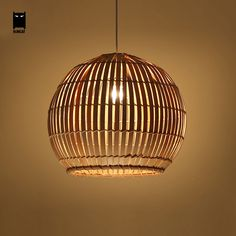 Nordic Personally Art Creative Country Wooden Pendant Light Coffee Dinning Room Modern Home Decor Lighting Fixutre Wooden Pendant Lighting, Lamps Fixtures, Wooden Ceiling Design, Bamboo Roof, Rustic Pendant Lighting, Asian Pendant Lighting, Pendant Light, Wicker Pendant Light, Rustic Ceiling