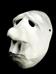 The Idiot - Basel Mime mask from masks4schools.com