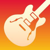 """GarageBand - I love this app so much that I bought the add-on """"smart"""" instruments. I also have it hooked up so I can control GarageBand instruments through my Leap Motion controller just by waving my hands around in the air. Ta-Da!"""