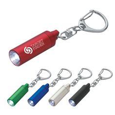 Micro Aluminum LED Light With Key Clip  $1.29/ea  |  Hit Promo  #2049