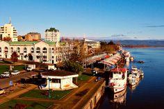 Lugares turisticos de Valdivia Mercado Fluvial