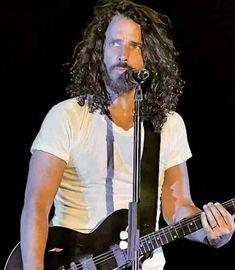Chris cornell Most Beautiful Man, Gorgeous Men, Beautiful People, Chris Cornell Young, Audioslave Chris Cornell, Say Hello To Heaven, Feeling Minnesota, Foo Fighters Nirvana, Better Music