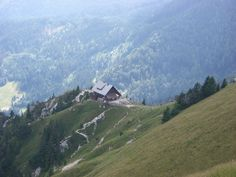 Cabin between Austria and Slovenia. Submitted and photographed.