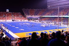 Boise State Football: 3 Reasons the Broncos Are Bound to Overachieve in 2013 Espn College, College Game Days, College Football, Boise State Football, Boise State University, All Over The World, Cool Pictures, Moose, Mousse