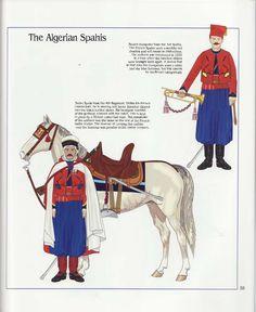 The Algerian Spahis, French Army, 1914