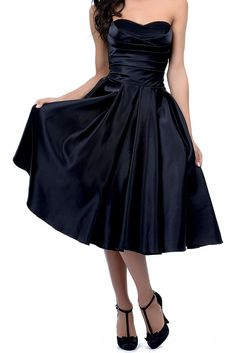 *Maillsa satin strapless bridesmaid dress party dress prom dress PP497