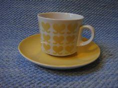 Arabia, Osteri Stig Lindberg, Marimekko, Porcelain Ceramics, Utensils, Finland, Coffee Cups, Scandinavian, Old Things, Design Inspiration