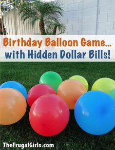 water balloon party ideas | Kids Birthday Party Game Ideas For Summer | Signs.com