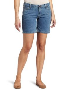 Amazon.com: Carhartt Women's Curvy-Fit Denim Short: Clothing