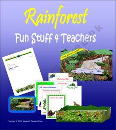 Rainforest Rendezvous--Fun Stuff 4 Teachers