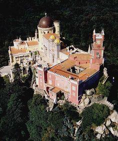 """""""Castelo da Pena"""". # Sintra, Portugal."""