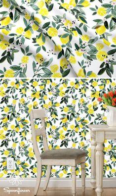 Colorful fabrics digitally printed by Spoonflower - Dear