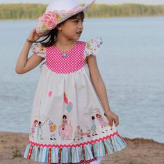 Need some new patterns.... maybe this one. Girls Dress Pattern with Flutter Sleeve - How to Sew the Butterfly Dress PDF Sewing pattern via Etsy