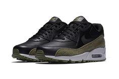 Nike Air Max 90 Essential Trainer Medium Olive Footasylum