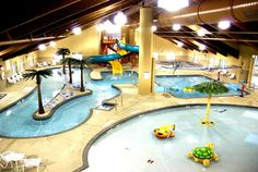 Honey Creek Resort State Park - I want to go to this Iowa resort! I think the kids would love it.