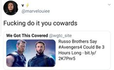 Shit dude, make it six. I'll watch the whole thing Avengers Memes, Marvel Memes, Marvel Avengers, Marvel Comics, Avengers Infinity War, Bucky Barnes, Marvel Cinematic Universe, Movies Showing, Fangirl