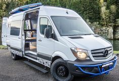 Our Vans - Custom Sprinter Camping Van, Toy Hauler, 4x4 Vans
