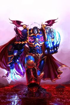 Konrad Kruze, Night Lords Primarch.