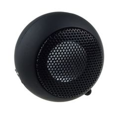 Mini Portable Hamburger 3.5mm Speaker For iPod Laptop Tablet iPhone PC MP3 Black #UnbrandedGeneric