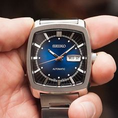 Old school vibes meet new school features with the Recraft Automatic SNKP23. #SeikoStyle #KelleyJewelers #Watches #DowntownWeatherfordOK . ????????????