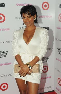 Nia Long Long appeared in supporting roles in a number of movies such as Boyz n the Hood, Friday, and Made in America. Nia Long, Ebony Girls, Ebony Women, Beautiful Black Women, Beautiful People, Pretty Black, Meagan Good, Rock Hairstyles, Black Actresses