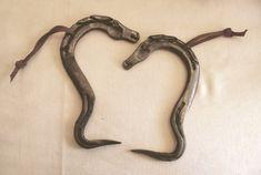 Handmade Horseshoe Hoof Pick by Cowboy Western Artist Tolley Marney. via Etsy.