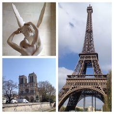 Matteo non era mai salito sulla Tour Eiffel, né aveva mai visto la statua di Canova