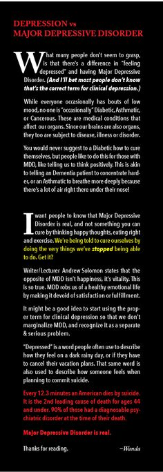 Mental health, suicide, depression, MDD