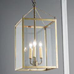 Quad Hanging Lantern