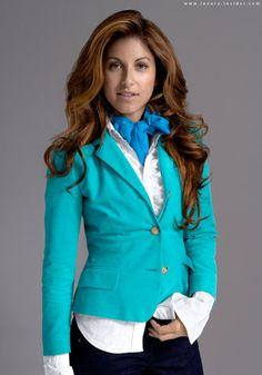 Dylan Lauren Turquoise Jacket
