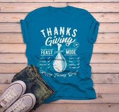 Mens Funny Thanksgiving T Shirt Feast Mode Checklist Vintage Graphic Tee Happy Turkey Day - Funny Thanksgiving Shirts - Ideas of Funny Thanksgiving Shirts #shirts #thanksgiving #thanksgivingshirts -   Men's Funny Thanksgiving T Shirt Feast Mode Checklist Vintage Graphic Tee Happy Turkey Day