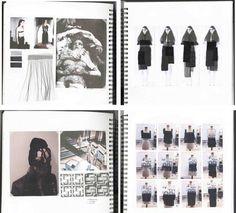 Resultado de imaxes para sketchbook fashion