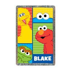 Sesame Street Elmo and Friends Throw