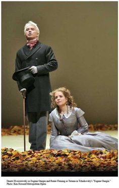 Costumes From Eugene Onegin.