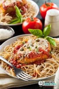 Crockpot Chicken Parmesan — Moms with Crockpots
