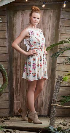 Só na Antix Store você encontra Vestido Savana Florida I com exclusividade na internet