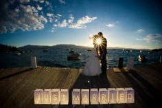 7 of the best new wedding signs and sayings for 2014 - loving these Just Married lanterns from The Wedding of my Dreams - ideal for a wedding abroad