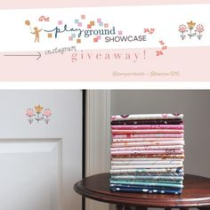 https://flic.kr/p/MRgXE8 | Today is the last day of the #playgroundshowcase and to celebrate there's a fun giveaway going on over at @becker1210 Lady Belle Fabric 💕💕💕 Enter to win a fat quarter bundle of the entire #playgroundfabrics collection. Loo