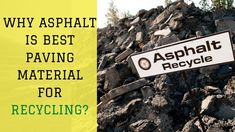 💁♂️ Greener approach is in trend! 👉If You're Looking For Asphalt Recycling Services, Then Choose Asphalt Repair, Recycling Services, Recycling Process, Driveways, Pavement, Recycled Materials, Construction, Good Things, Green