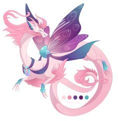 Dragon-A-Day 079 by Mythka on DeviantArt