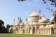 The Royal Pavilion was built as a seaside pleasure palace for King George IV. King George Iv, Royal Pavilion, University Of Manchester, Cottage Plan, Seaside Resort, Gaudi, Bilbao, British Museum, Staycation
