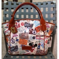 Walt Disney World 40th Anniversary Dooney and Bourke Large Tote Purse Bag