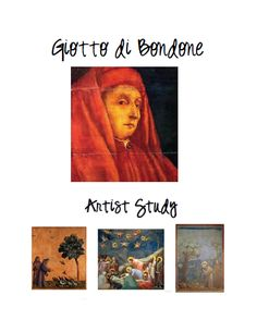 Ideas for Giotto Picture Study and activity, includes a few resources to use along with it.