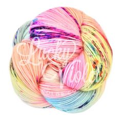 Wendy Yarn in candy kingdon colorway, buy for the Lucky Violet Summer 2016 KAL starting July 15th already have pattern downloaded Fingering Weight yarn 436 yards $34.00