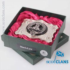 MacLean Clan Crest B