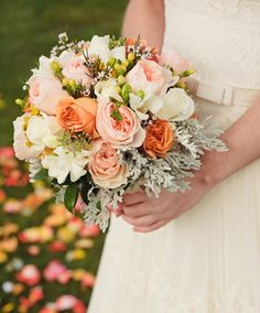 peach reception wedding flowers,  wedding decor, wedding flower centerpiece, wedding flower arrangement, add pic source on comment and we will update it. www.myfloweraffair.com can create this beautiful wedding flower look.