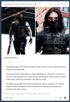Captain America: The Winter Soldier. More pain. Thanks.