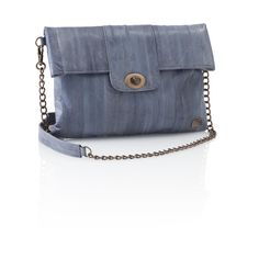 Soft dove grey colour and easy styling makes this a perfect spring bag. Made of supple eel skin and has a removeable shoulder strap. Go from meeting to drinks on the terrace and one relaxed move. Ethical too. find more women fashion ideas on www.misspool.com