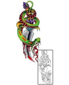 Show details for Reptiles & Amphibians Tattoo CKF-00058