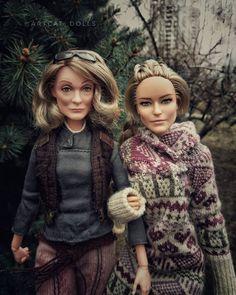 Barbie Family, Doll Stuff, Fur Coat, Vest, Dolls, Jackets, Fashion, Baby Dolls, Down Jackets